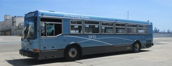 San Francisco Airport Receives 6 Refurbished Shuttle Buses from Complete Coach Works