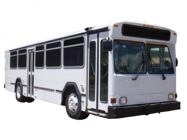35 ft High Floor Transit Buses