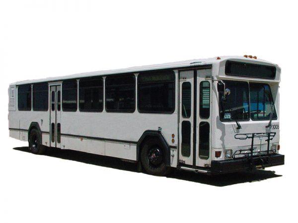 40 ft High Floor Transit Buses